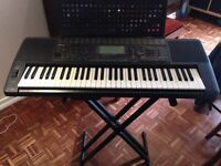 Yamaha PSR 620 Keyboard with Stand