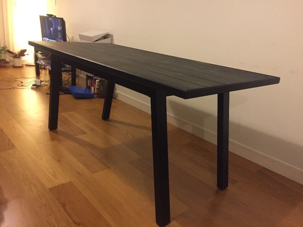 Dining table ikea ryggestad for only £100 as good as new