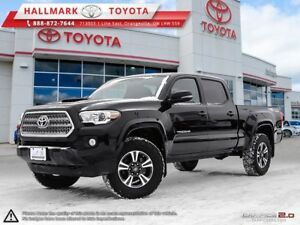 2017 Toyota Tacoma 4x4 Double Cab V6 SR5 6A LOW KM'S, WELL MAINT