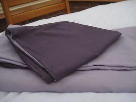 Duvet Set & 2 mattress protectors - all single size