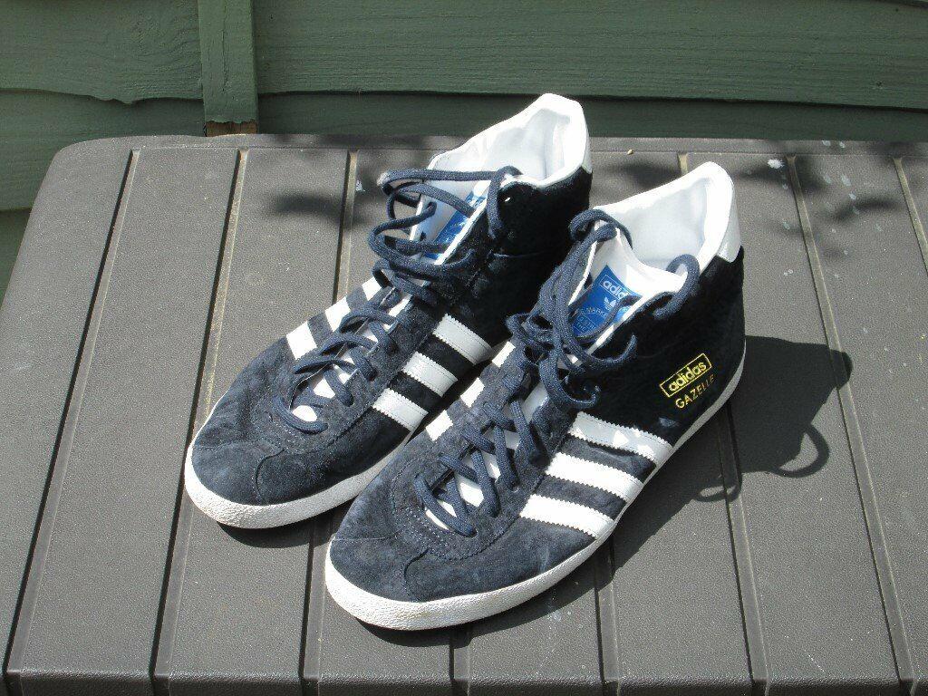 finest selection a91c4 781d5 Mens Dark Blue Adidas Gazelle Boot Trainers | in Benfleet, Essex | Gumtree