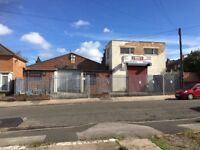 large Secure Unit to let 3082 sqf Electric shutter fenced/gated front yard W/C office