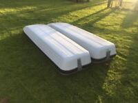 Roof box two top boxes made by Mercedes Fit any vehicle