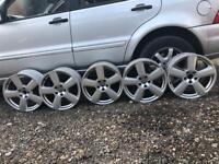 Audi rs6 alloys (245/40/18)