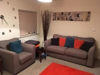 SOFA and ARM CHAIR IN PRISTINE CONDITION