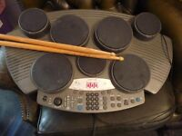 CLARITY 7 PAD ELECTRONIC DRUM PERCUSSION MACHINE