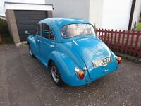 MORRIS MINOR 1957 MOT & TAX EXEMPT