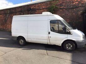 Ford Transit Freezer/Chiller Van (-18) GAH Unit