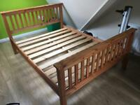 Double Bed - solid wood - Belfast