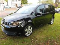 VOLKSWAGEN TOURAN 1.6 TDI, 2012 *7 SEATER* LOW MILES **FINANCE FROM £47 A WEEK**