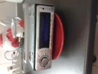 sony radio cdx-f7500 50w x 4, remote control 30 ono