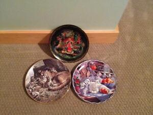 Three Collector Plates