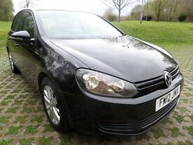 2012 VOLKSWAGEN GOLF 1.6TDI S*£30 TAX**FINANCE PACKAGES*ONLY 86K MILES*