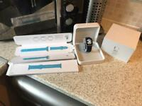 Apple Watch series 1 38mm in immaculate boxed condition with spare Apple strap.