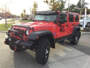 2013 Jeep WRANGLER UNLIMITED Sahara MOAB LEATHER 2 TOPS