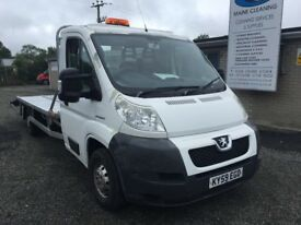 Recovery truck 3.5 t Peugeot boxer