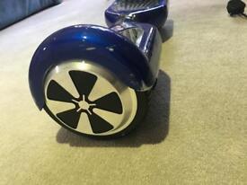 Blue hover board