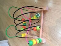 Child's learning Shape abacus