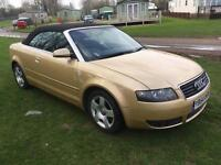 Audi A4 1.8 turbo convertible