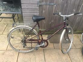 Raleigh Misty Ladies Bike, Serviced. Lovely Condition. Free D-Lock, Lights, Delivery. Warranty
