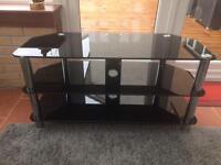 TV cabinet in black