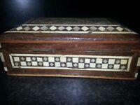 WOODEN JEWELLERY /TRINKET BOX