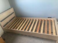 Single wooden bed frame for sale