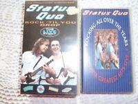 Status Quo video cassettes