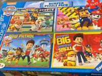 Paw Patrol 4x42 pieces jigsaw