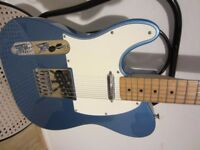 Left handed Fender telecaster 2013 model (made in Mexico)