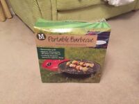 Portable barbecue grill (Morrisons)