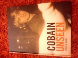KURT COBAIN UNSEEN BOOK