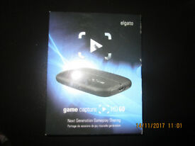 Elgato Game Capture HD 60 - Capture Card - BOXED - XBOX - PLAYSTATION - YOUTUBE