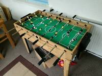 34 in 1 games table. inc football & pool