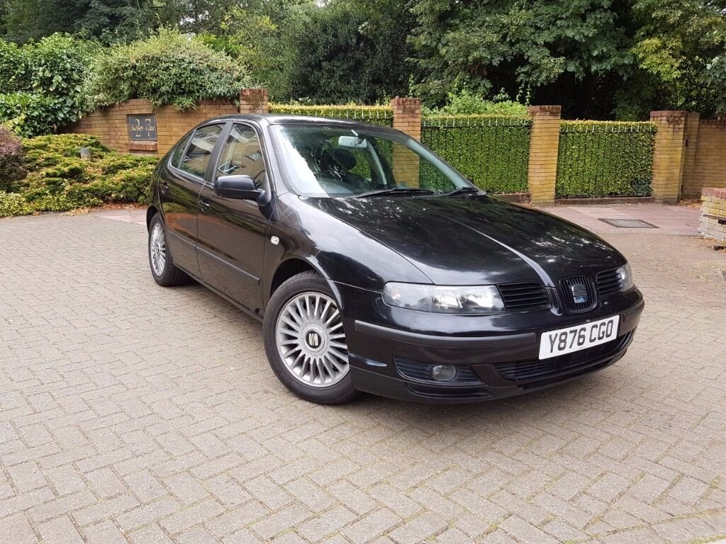 seat leon mk1 1 8t cupra black leather in beckenham london gumtree. Black Bedroom Furniture Sets. Home Design Ideas