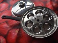 Stainless Steel large 11inch pan set ( see all pics)