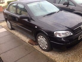2003 03 Vauxhall Astra Saloon 1.6 Taxed and insured to drive home.