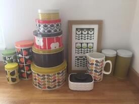 Orla Kiely kitchen accessories - Great condition