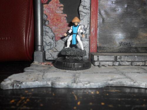 CUSTOM Heroclix RAIDEN - Mortal Kombat Figure MINIATURE THUNDER GOD Warrior