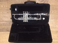 Trumpet - Yamaha silver plated trumpet