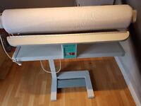 PFAFF Roller Iron Steam Press 85cm wide / Ironing / Exelent Condition