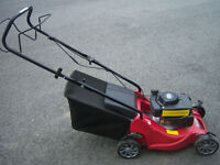 MOUNTFIELD SP414 mower, hardly used, 18 months old, self propelled