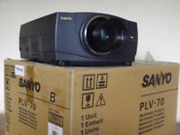 SANYO Multimedia Projector Model PLV-70