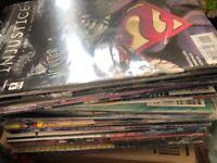 Comic book sale joblot car boot dc marvel etc