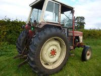International 475 tractor with Ferguson engine