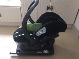 Mamas and papas pro sleep car seat and Isofix