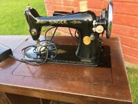 vintage singer sewing machine No 66