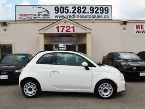 2012 Fiat 500C Convertible, Leather, WE APPROVE ALL CREDIT