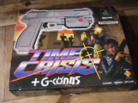 TIME CRISIS + G-CON 45 GUN for PLAYSTATION PS1