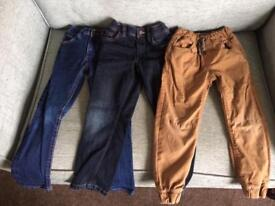 Next boys trousers and jeans, aged 5